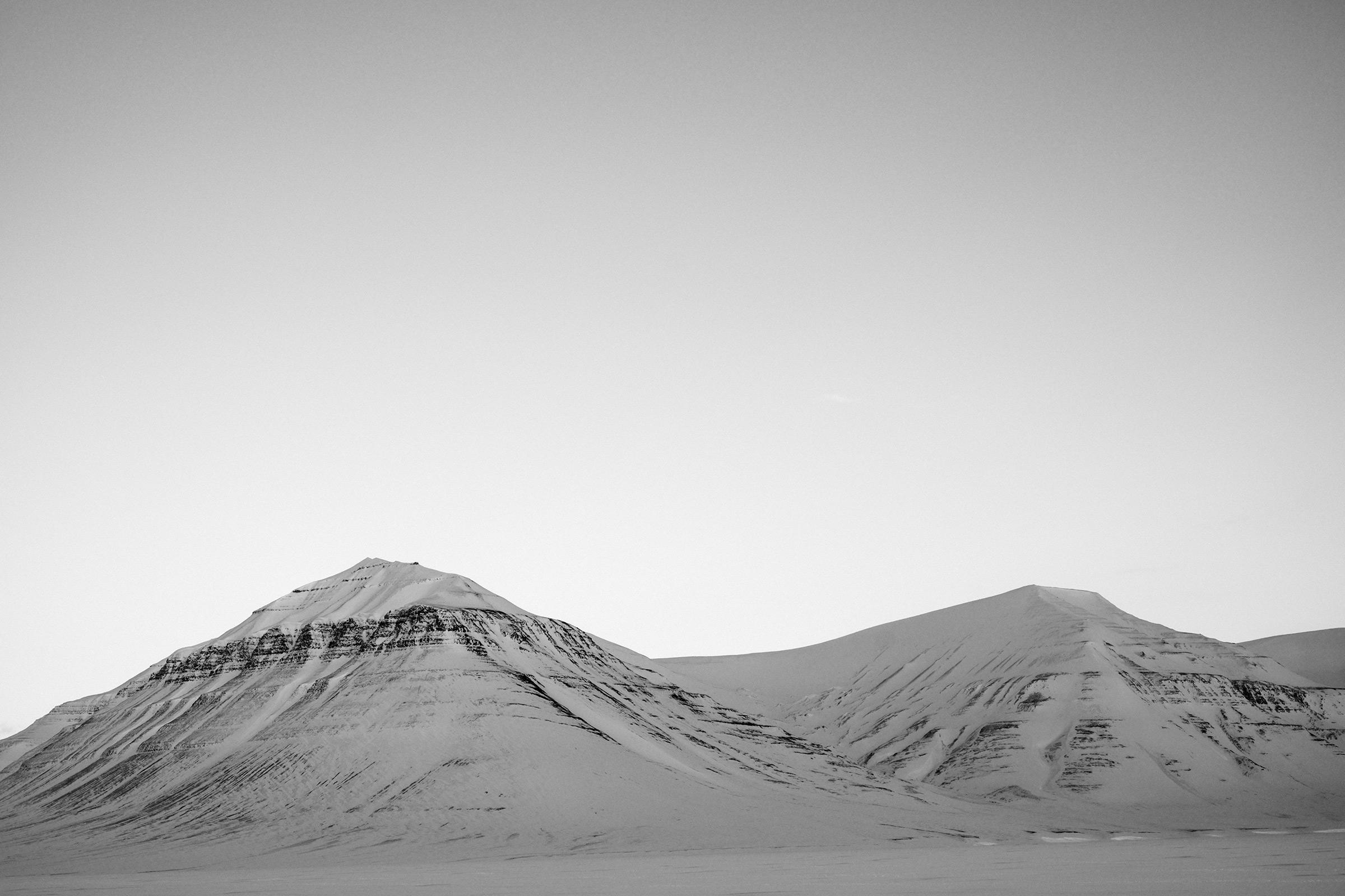 Milne Edwardsfjellet, Svalbard, Foto: Martin Hülle