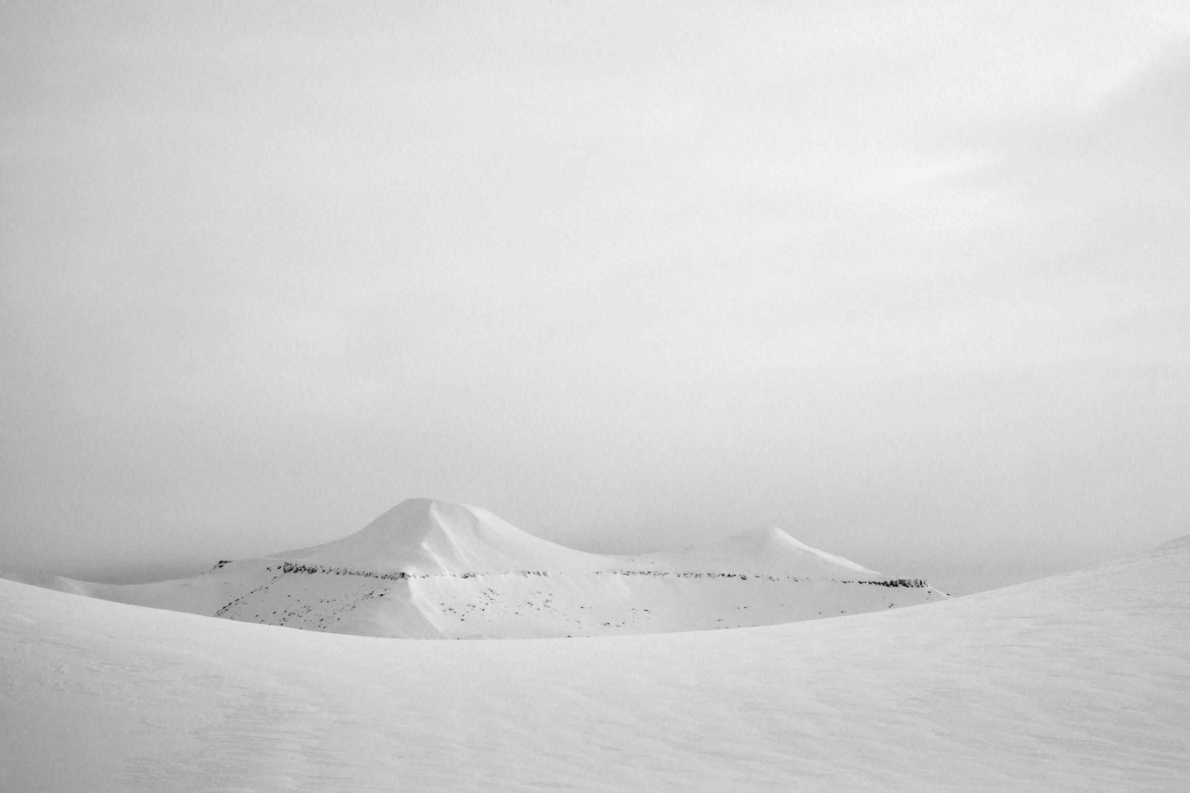 Såtebreen, Svalbard, Foto: Martin Hülle