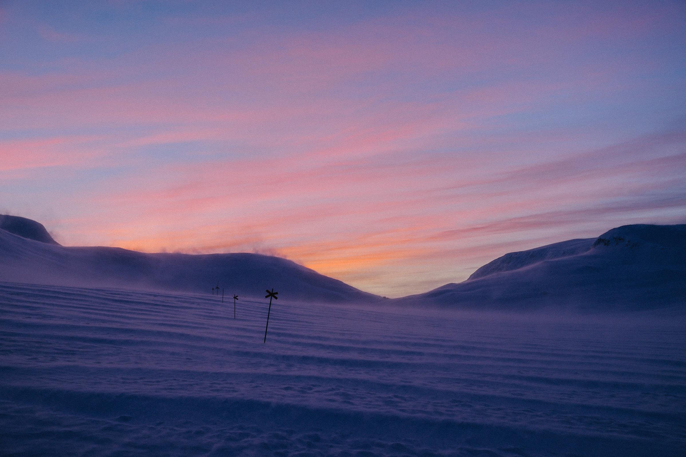 Schweden, 2013 – Polarnacht, Foto: Martin Hülle