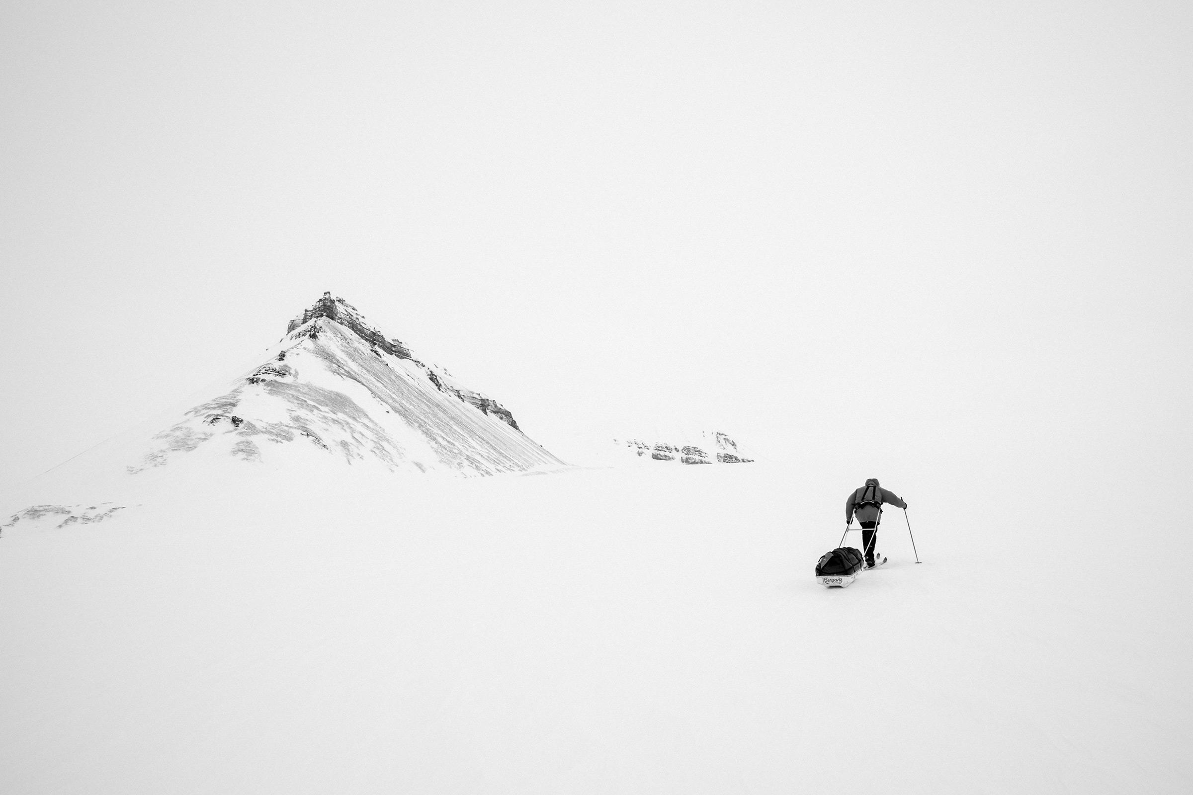 Svalbard, 2015 – I Like to Ski, Foto: Martin Hülle
